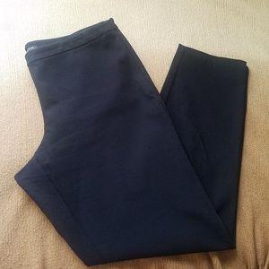 Eileen Fisher | Skinny Ankle Side Zip Trousers